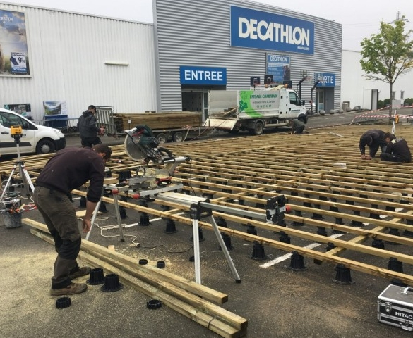 Chantier DECATHLON à MAINVILLIERS (28)